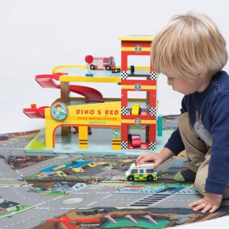 Le Toy Van Spielteppich Straße Groß