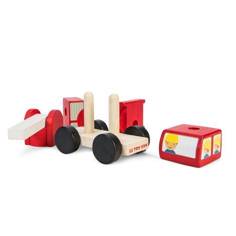 Le Toy Van Feuerwehrwagen Steckspiel
