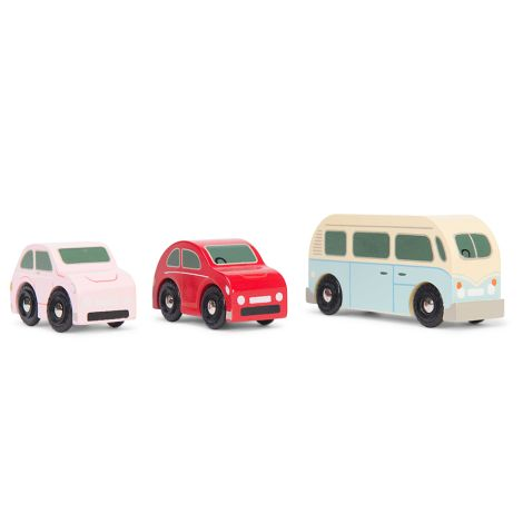 Le Toy Van Holzauto Retro Metro 3er-Set