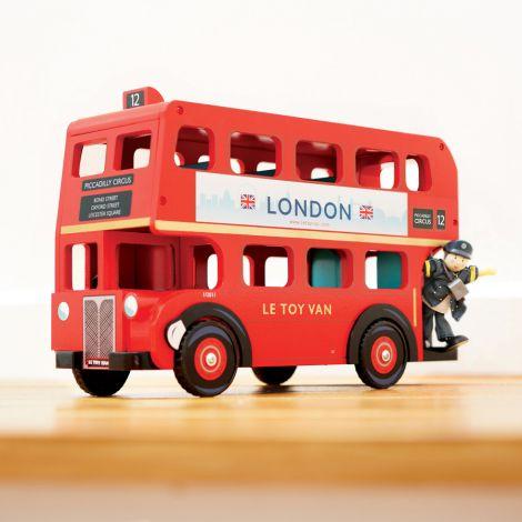 Le Toy Van London Bus mit Fahrer