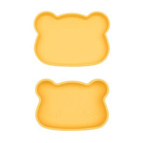 We Might Be Tiny Lunchbox Brotdose Snackies Bär Gelb