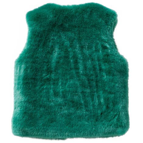 Oilily Weste Body Warmer Cafur Teddy Green