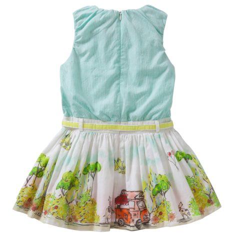 Oilily Kleid Doliday Weiß