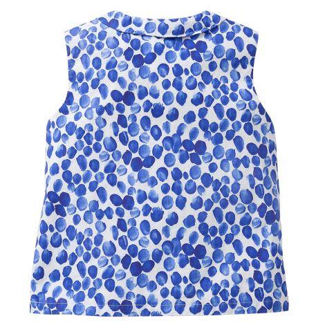 Oilily Bluse Blub Fingerprint Blue