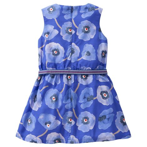 Oilily Kleid Diske Poppies Rayon Blue