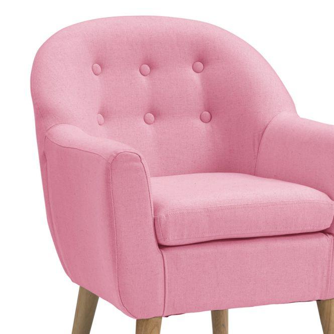 kids concept sessel rosa online kaufen emil paula kids. Black Bedroom Furniture Sets. Home Design Ideas