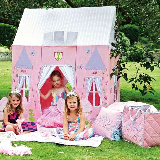 win green spielhaus princess castle gro online kaufen emil paula kids. Black Bedroom Furniture Sets. Home Design Ideas