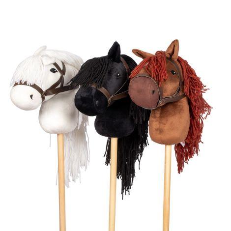 by ASTRUP Hobby Horse Steckenpferd Black