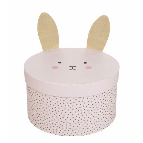 JaBaDaBaDo Aufbewahrungsbox Bunny 2er-Set
