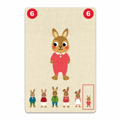 Djeco Spielkarten Familou