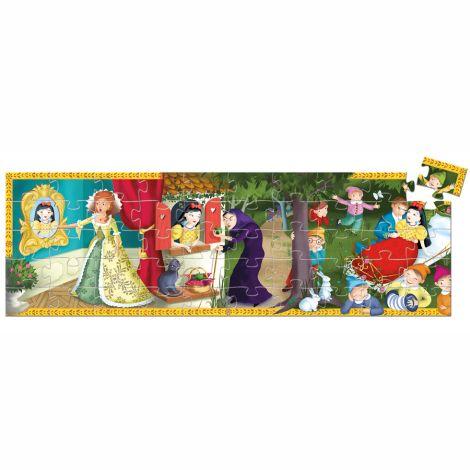 Djeco Formen Puzzle Snow White - 50 Teile
