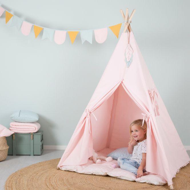 little dutch tipi zelt pink online kaufen emil paula kids. Black Bedroom Furniture Sets. Home Design Ideas