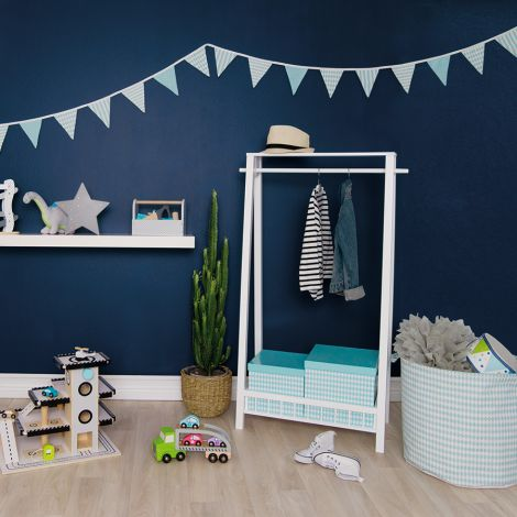 jabadabado stoff wimpelkette blau online kaufen emil paula kids. Black Bedroom Furniture Sets. Home Design Ideas
