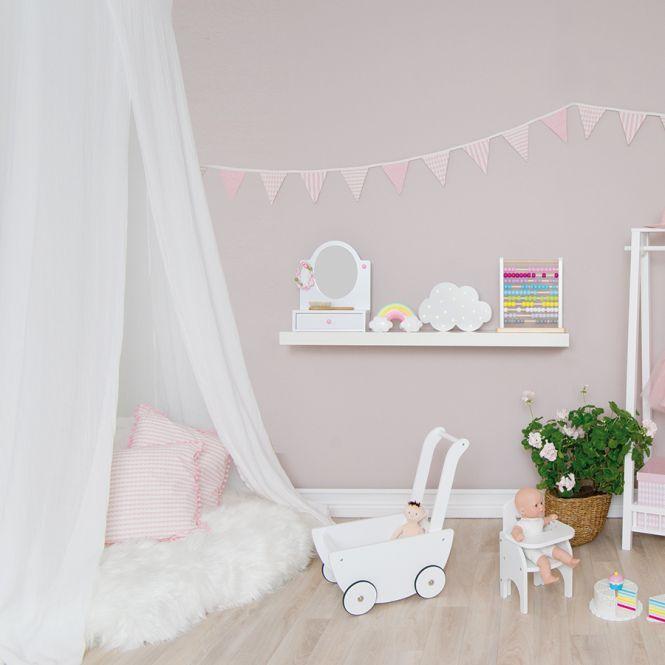 jabadabado stoff wimpelkette rosa online kaufen emil paula kids. Black Bedroom Furniture Sets. Home Design Ideas