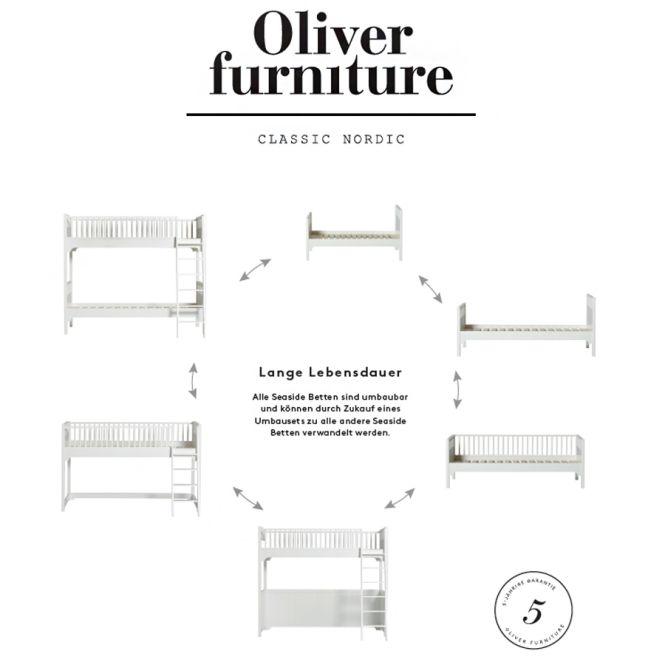 oliver furniture hochbett seaside sofort lieferbar. Black Bedroom Furniture Sets. Home Design Ideas