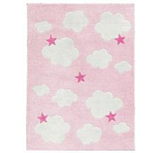 Teppich rosa weiß  Teppiche & Vorhänge jetzt online bestellen! - EmilundPaula-Kids.de