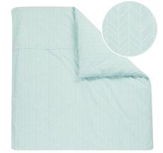 little dutch bettdecke pure soft 70x100 mint leaves online kaufen emil paula kids. Black Bedroom Furniture Sets. Home Design Ideas