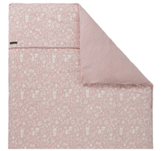 Little Dutch Kinderwagen-Kissenbezug 80x80 Adventure Pink