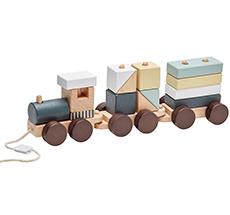 Kids Concept Zug mit Holzklötzen