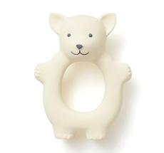 Kids Concept Beißring Fuchs Naturgummi Weiß