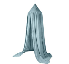 Sebra Betthimmel Eucalyptus Blue