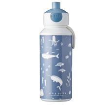 Little Dutch Trinkflasche Pop-up Campus 400 ml Ocean