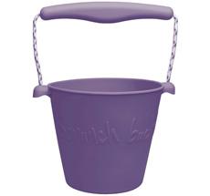 Scrunch Eimer Dark Purple