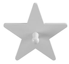 Kids Concept Kleiderhaken Star Grau