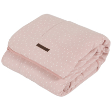 Little Dutch Wiegedecke Pure & Soft Pink Sprinkles