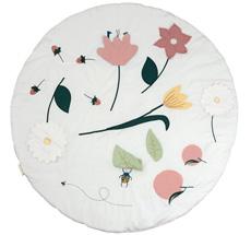 Fabelab Activity-Krabbeldecke Flower Bio-Baumwolle