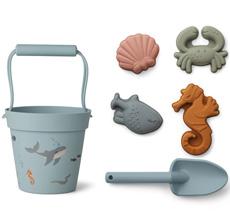 LIEWOOD Sandspielzeug Dante Sea Creature Mix