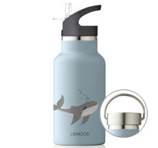LIEWOOD Trinkflasche Anker Sea Creature Mix 2 Verschlüsse