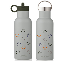 LIEWOOD Thermosflasche Neo Panda  Dove Blue Multi Mix 2 Verschlüsse 500 ml