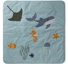LIEWOOD Aktivitäten-Decke Glenn Sea Creature Mix