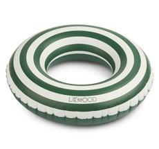 LIEWOOD Schwimmring Baloo Stripe Garden Green/Creme de la Creme