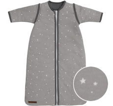 Little Dutch Schlafsack Winter Little Stars Grey - In verschiedenen Größen