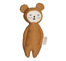 Fabelab Rassel Bear Ochre Bio-Baumwolle