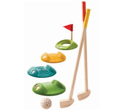 PlanToys Mini-Golf Komplettset