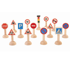 PlanToys Verkehrsschilder