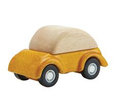PlanToys Auto Gelb