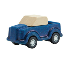 PlanToys Auto Pick Up Blau