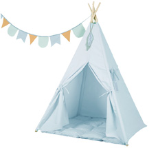 Little Dutch Tipi Zelt Blue