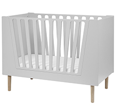 Done by Deer Baby-Bett Grey 70x140
