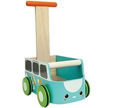 PlanToys Lauflernwagen Blau