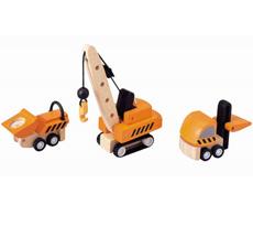 PlanToys Baustellenfahrzeuge •