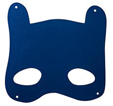Bloomingville Magnet-Tafel Mask Blue •