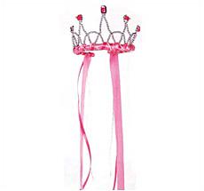 Bänderdiadem Pink