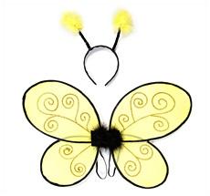 Kostüm Bienenfügel und Haarreif