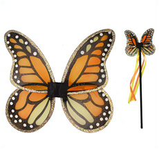 Kostüm Flügel-Set Schmetterling