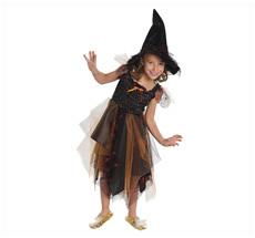 Kostüm Hexentücherkleid mit Hut •